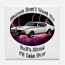 Hurst Olds Tile Coaster