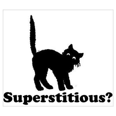 Superstitious Canvas Art