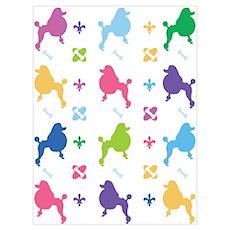 Poodle Designer Poster