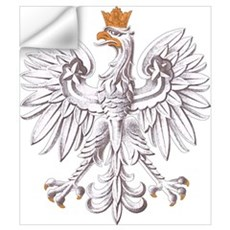 Polish White Eagle Wall Decal