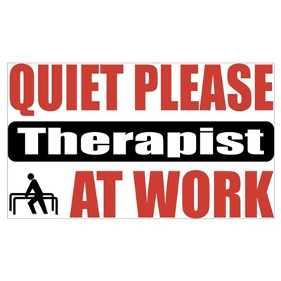 Therapist Work Canvas Art