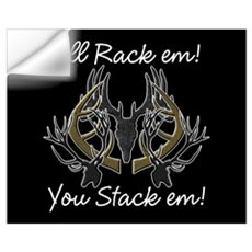 Rack em! Wall Decal