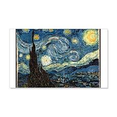 Starry Night 22x14 Wall Peel