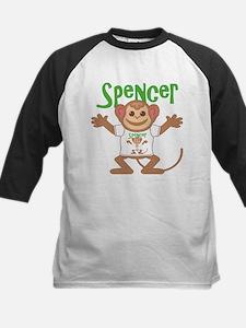 Little Monkey Spencer Kids Baseball Jersey
