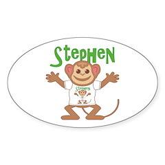 Little Monkey Stephen Decal
