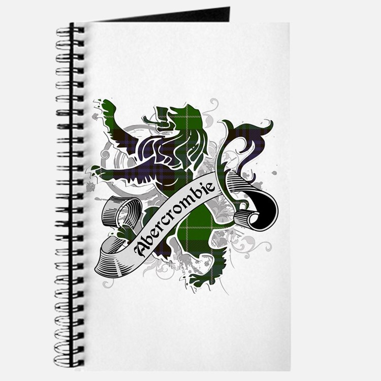 Abercrombie Tartan Lion Journal