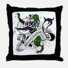 Abercrombie Tartan Lion Throw Pillow