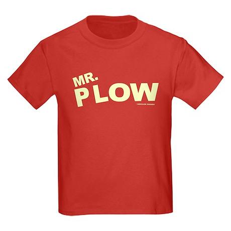 Mr Plow Kids Dark T-Shirt