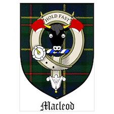 Macleod Clan Crest Tartan