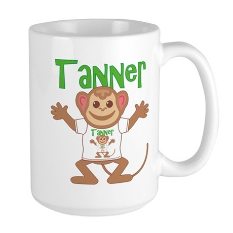Little Monkey Tanner Large Mug
