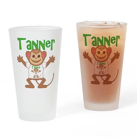 Little Monkey Tanner Drinking Glass