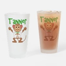 Little Monkey Tanner Drinking Glass