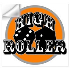 High roller Wall Decal