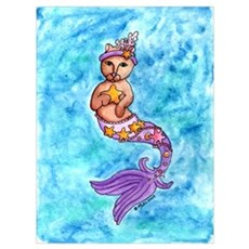 Starfish Mercat Canvas Art