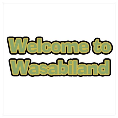 Wasabiland Wasabi Poster