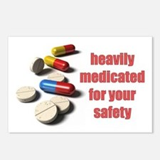 Heavily Medicated Postcards (Package of 8)