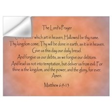 The Lord's Prayer Wall Decal