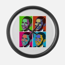 Unique Obama Large Wall Clock