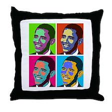 Cute President Throw Pillow