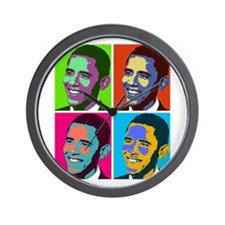Funny Election 2012 Wall Clock