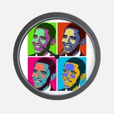 Cute Obama Wall Clock