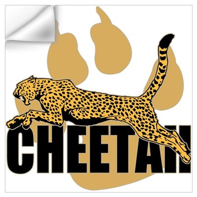 Cheetah Power Wall Decal