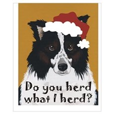 Australian Shepherd Do You Herd Canvas Art