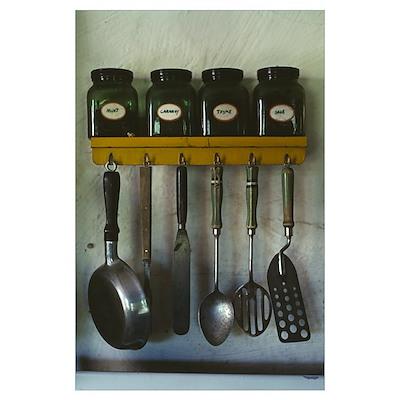 Kitchen Gear Poster