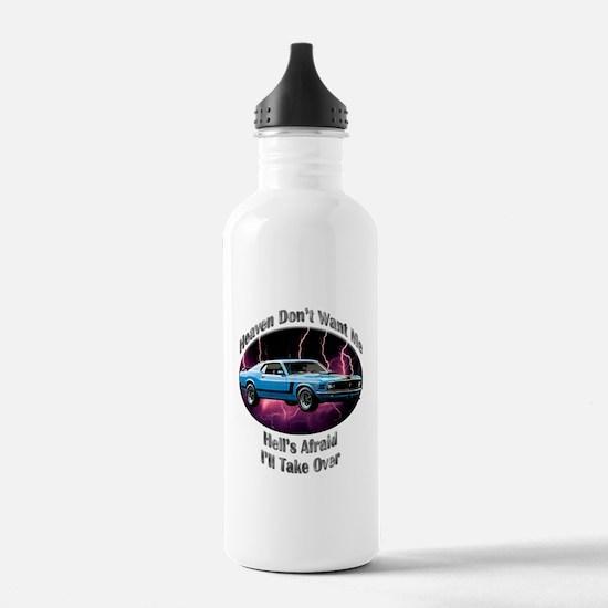 Ford Mustang Boss 302 Water Bottle