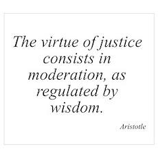 Aristotle quote 92 Poster