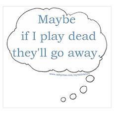 Play Dead Joke Poster