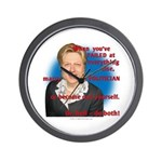 Billary Clinton Wall Clock