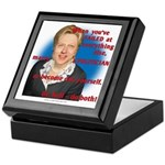 Billary Clinton Keepsake Box
