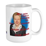 Billary Clinton Large Mug