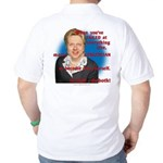 Billary Clinton Golf Shirt