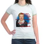 Billary Clinton Jr. Ringer T-Shirt