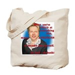 Billary Clinton Tote Bag