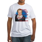 Billary Clinton Fitted T-Shirt