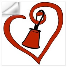 Heartfelt Bell Wall Decal
