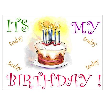Its My Birthday! Poster