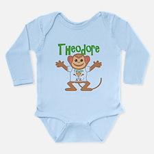 Little Monkey Theodore Long Sleeve Infant Bodysuit