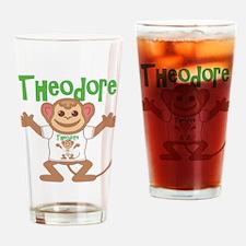 Little Monkey Theodore Drinking Glass