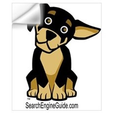 Rottie With Search Engine Gui Wall Decal