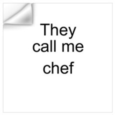Chef Wall Decal