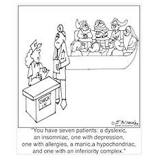 7 Patients W/ 7 Symptoms Poster