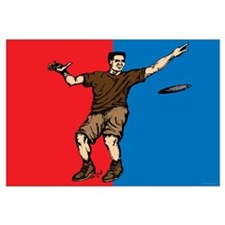 Disc Golfer Flag