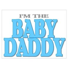 I'm the Baby Daddy Framed Print