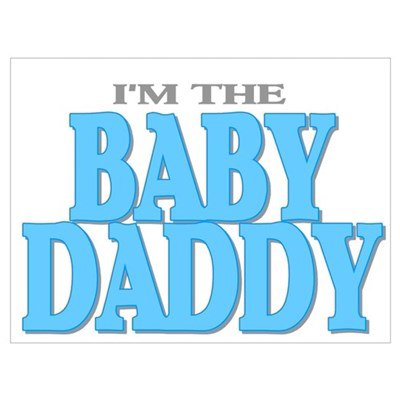 I'm the Baby Daddy Canvas Art