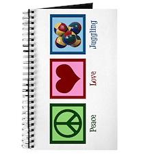 Peace Love Juggling Journal