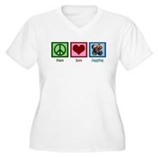 Peace Love Juggling T-Shirt